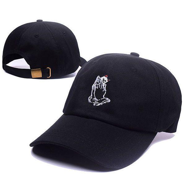 RIPNDIP 6 god Cat Praying Hands OVO Drake October's Very Own Black Baseball Cap Hip Hop Strapback Snapback Hat