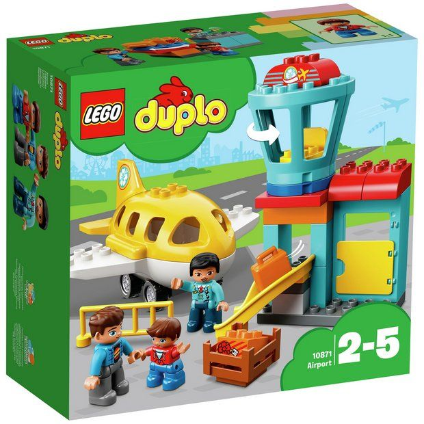 Buy LEGO DUPLO Airport - 10871 at Argos.co.uk - Your Online Shop for LEGO, LEGO and construction toys, Toys.