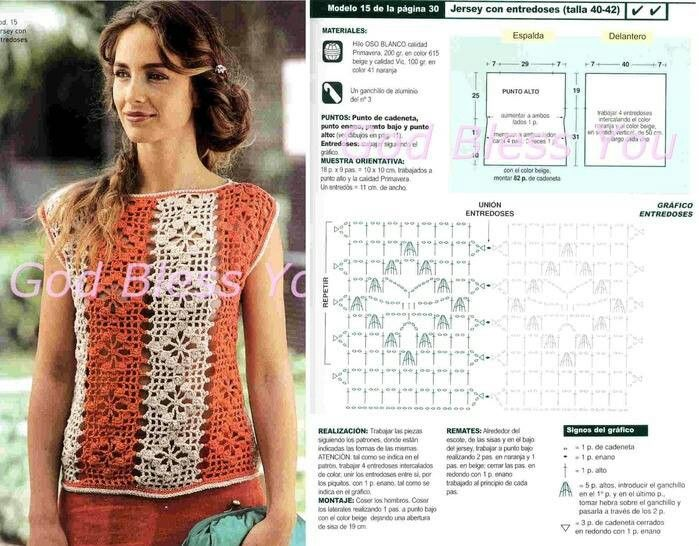 178 best CROCHET Jerseys images on Pinterest | Patrones de ganchillo ...