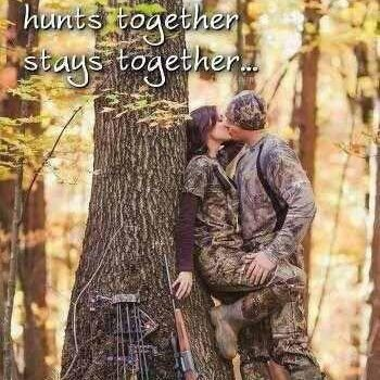 There is absolutely no better Date then the one you get sitting in a blind waiting for the shot.