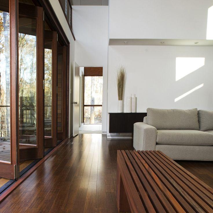 Parquet Bambou massif - ORIGINEL HORIZONTAL #wood #woodenfloor #parquet #home #brown