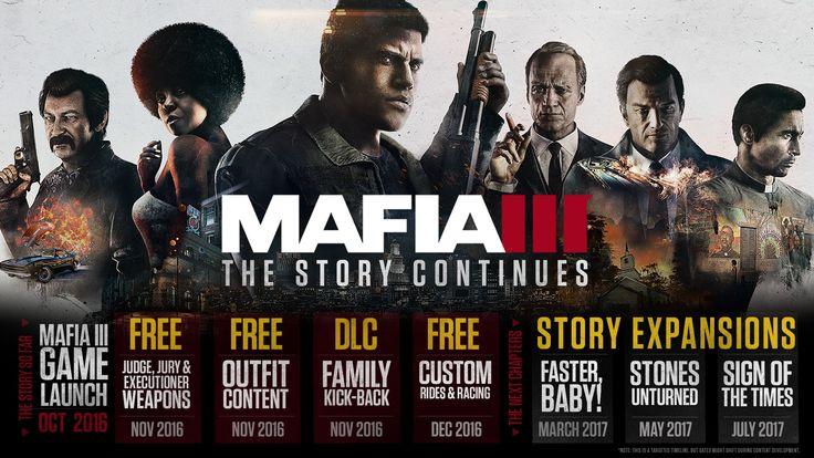 New Upcoming Mafia 3 DLCs - http://gamesintrend.com/new-upcoming-mafia-3-dlcs/