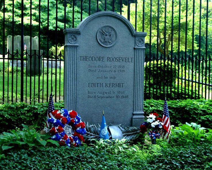 #26) Theodore Roosevelt...Oyster Bay, Long Island, NY