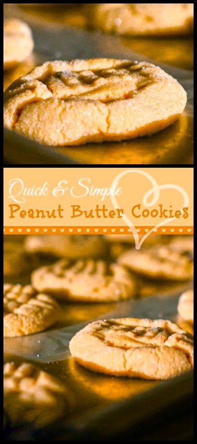 This is the best recipe for Peanut Butter Cookies. They are soft, chewy, and rich with creamy peanut butter. Don't forget a tall glass of cold milk!