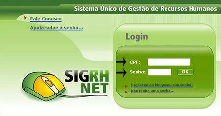 Portal do Servidor DF   Contracheque