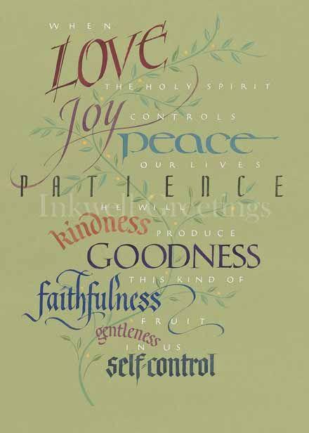 Galatians 5:22-23 - The Fruit of the Spirit