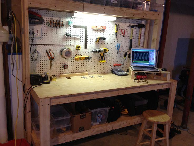 Family Handyman Custom Garage Storage: 8 Best Tables Images On Pinterest