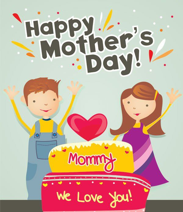 20 happy mothers day 2013 cards with beautiful typography these mothers day cards are simple and colorful with sweet calm felling of love and joy exactly