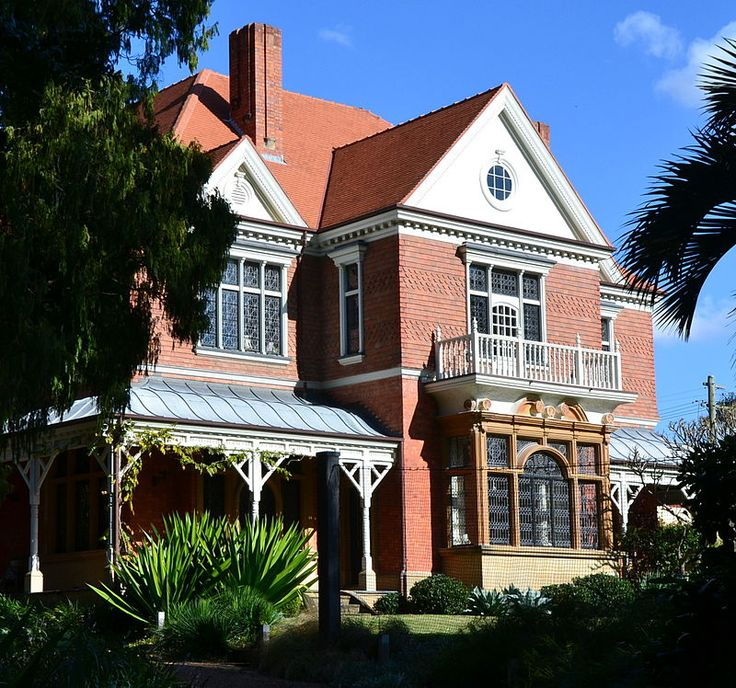 Federation Queen Anne Style Caerleon Bellevue Hill NSW The First Australian ArchitectureArchitectural StylesQueen