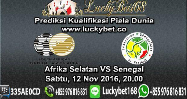 Bursa Taruhan Afrika Selatan vs Senegal 12 November 2016 | Prediksi Judi Bola