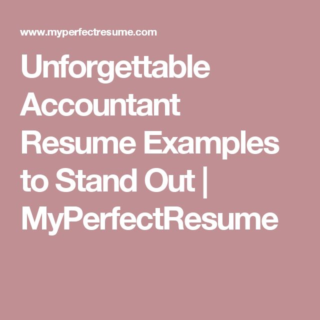 The 25+ best Accountant resume ideas on Pinterest Job resume, Cv - Computer Resume Cover Letter