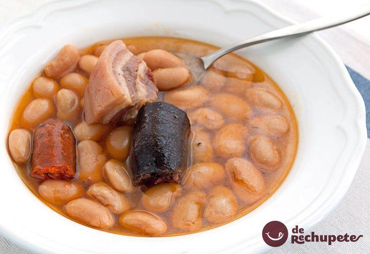 Fabada asturiana en olla express - Recetas de rechupete - Recetas de cocina caseras y fáciles
