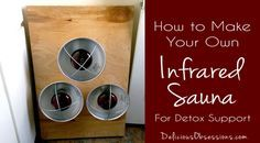 Learn How to Build a Portable Infrared Sauna For Detoxification and Relaxation. This portable infrared sauna can be used to support mineral balancing protocols.
