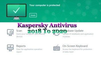 Kaspersky Antivirus 2018 + License Key Full Free Download