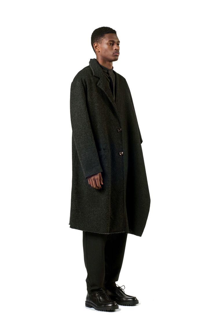 ETHNICAL BLACK COAT