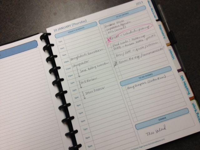 Daily Planner {My Master Plan} Now THIS is a planner and she has all the printables to go with it!