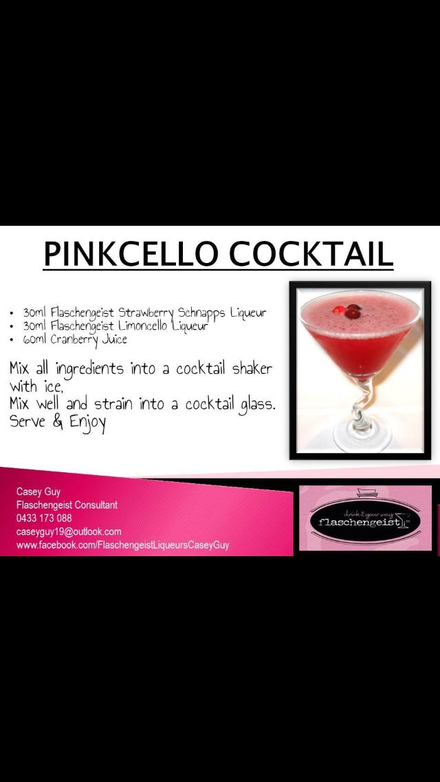 Pinkcello Cocktail