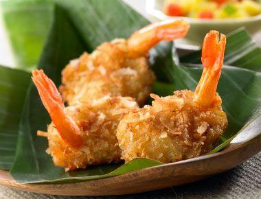 Coconut shrimp...a perfect appetizer! #BHGREParty