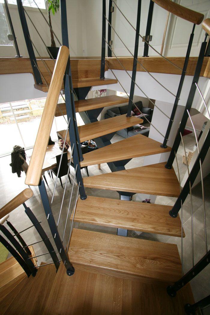les 59 meilleures images du tableau escaliers m tal sur pinterest escaliers modernes potier. Black Bedroom Furniture Sets. Home Design Ideas