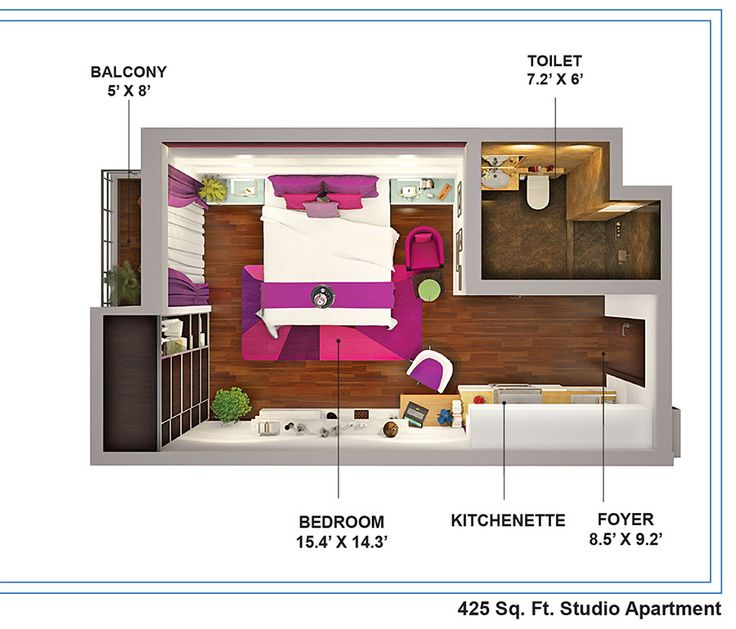 Studio Apartment Noida 1 bhk luxurious apartments with 425 sq. ft. check out here:- http