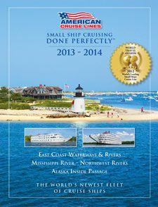 American Cruise Lines 2013 US cruise brochure