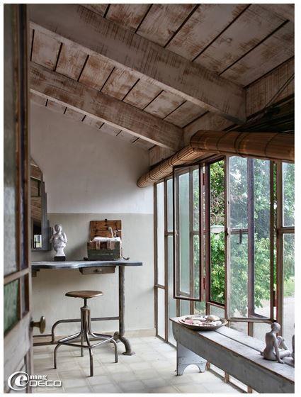 Verrière: idée pour le Chai - Photo http://www.e-magdeco.com/
