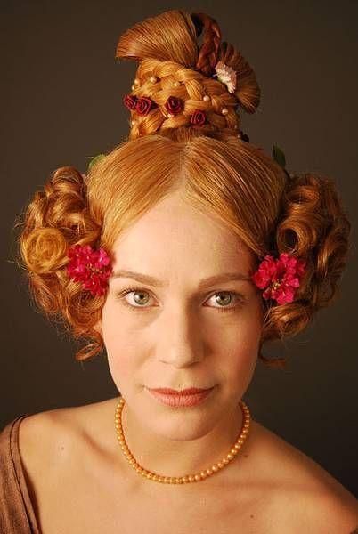hair styles 1800s