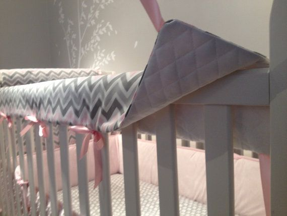 Crib Teething Rail Covers Matching Side Pieces By