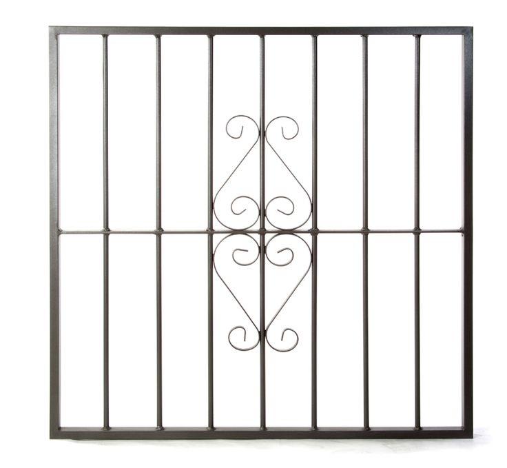 Reja de hierro de seguridad para ventanas. Modelo Basico CS.
