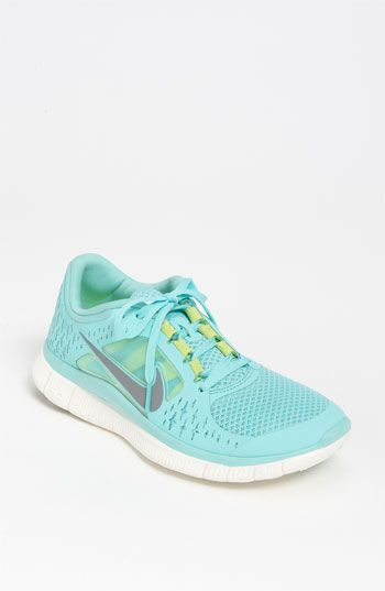 Neon teal/green Nike Frees--we must-have these!