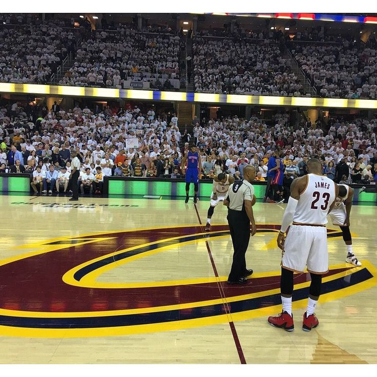 The Cleveland Cavaliers will look to take a 2-0 series lead tonight against the Detroit Pistons. The Cavs took Game One 106-101 and extended their Post Season win streak over the Pistons to 9 games. Coming into tonights game King James has won 14 consecutive games in the first round of the playoffs and when his teams go up 2-0 his team has won all 15 of those series. #dhtk #REPRE23NT #donthatetheking