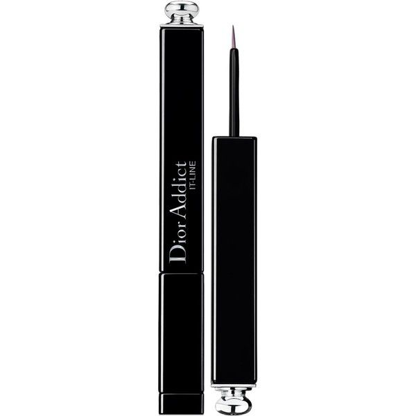 DIOR Dior Addict It-Line (135 RON) ❤ liked on Polyvore featuring beauty products, makeup, eye makeup, eyeliner, christian dior and christian dior eyeliner