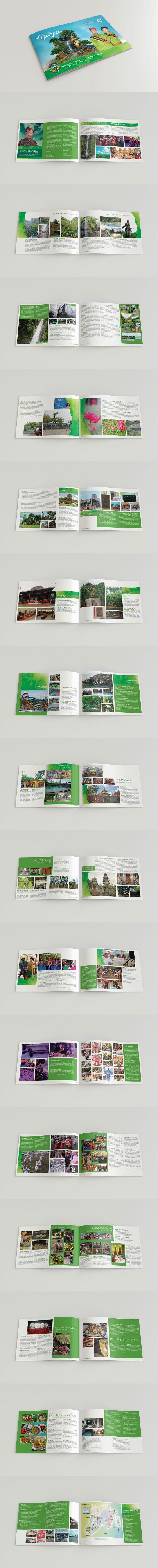 BOOKLET PESONA WISATA NGANJUK | Arexgraph Design