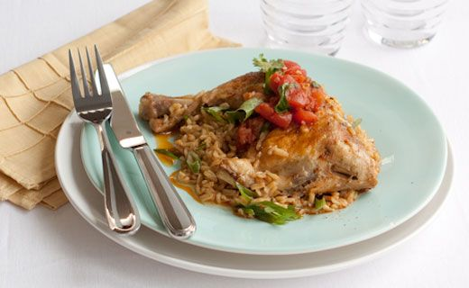 #Epicure Salsa Chicken with Rice (270 calories/serving) #portioncontrol