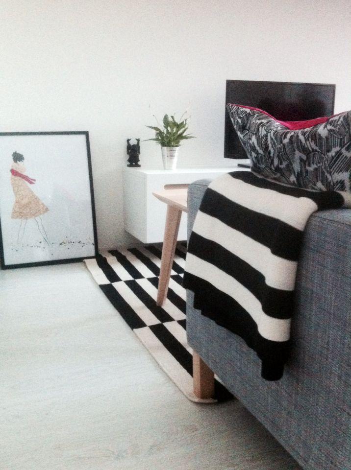 Scandinavian modern livingroom