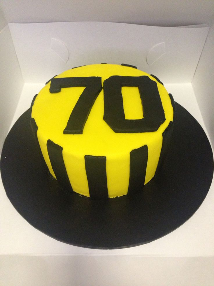 70th birthday Aek birthday cake