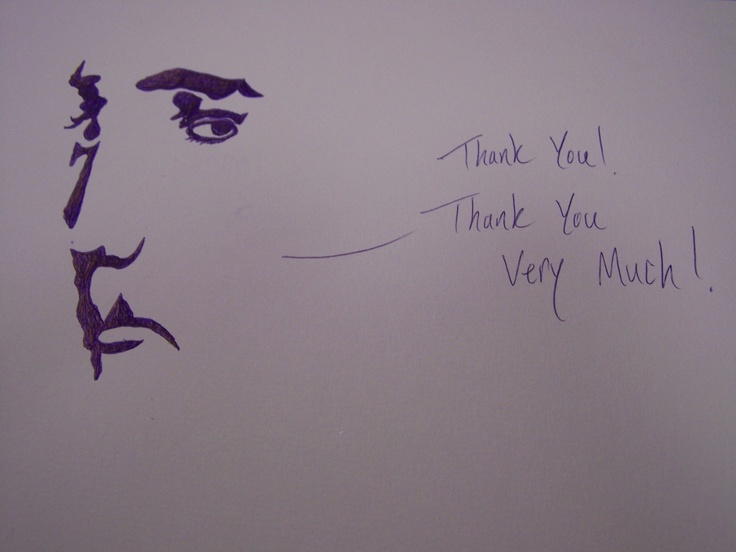 """John Kiste from the Canton Stark County CVB was our """"doodler"""" for the Taste of Our Town fundraising event this fall.  He left this drawing of Elvis on the table at the end of the night!  McKinley Presidential Library & Museum, Canton, Ohio."""
