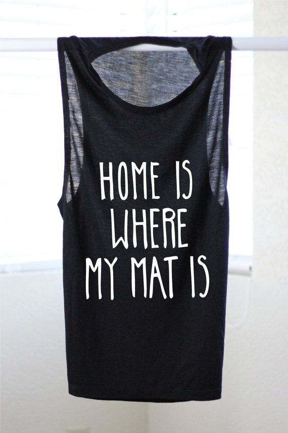 ↣Please review description and shipping & policies tab before checking out↢  Design is printed in white ink on a black womens musle tank  SEE THIS