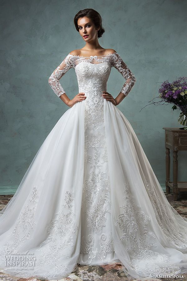 481 best Wedding dresses images on Pinterest | Wedding frocks ...