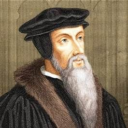 John Calvin - 1509–1564, French theologian and reformer in Switzerland: leader in the Protestant Reformation.