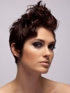 Glam Short Quiff Hair Style