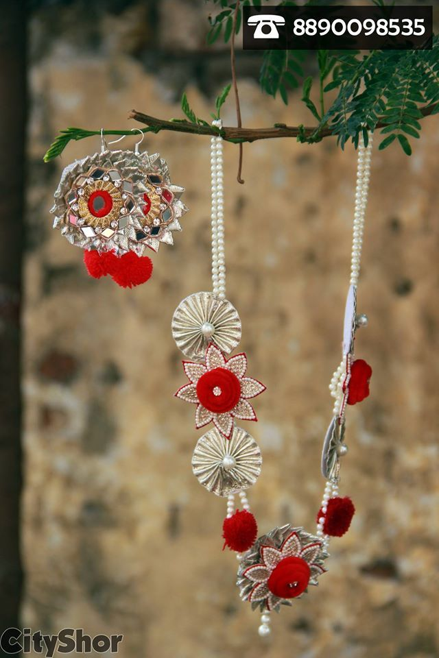 #AlankarWardrobe takes forward the gota game to 2017. Alankar Wardrobe Call: 8890098535 #Accessories #Jewellery #AlankarWardrobe #CityShorJaipur
