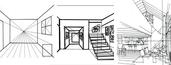 11 best perspective images on pinterest perspective for Interior design drawing tips