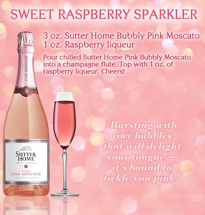 1000 images about moscato and on pinterest pink for Drinks with pink moscato
