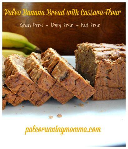 Paleo Banana Bread with @ottosnaturals Cassava Flour | Paleo Running Mama