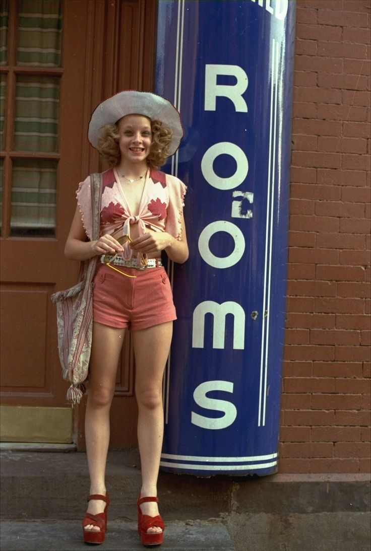 Jodie Foster in Taxi Driver (1976) showed us what the youth street scene look was like in the mid 70s