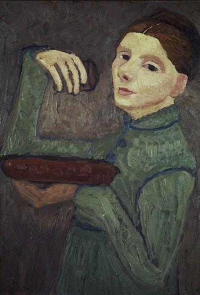 Paula Modersohn-Becker - self-portrait