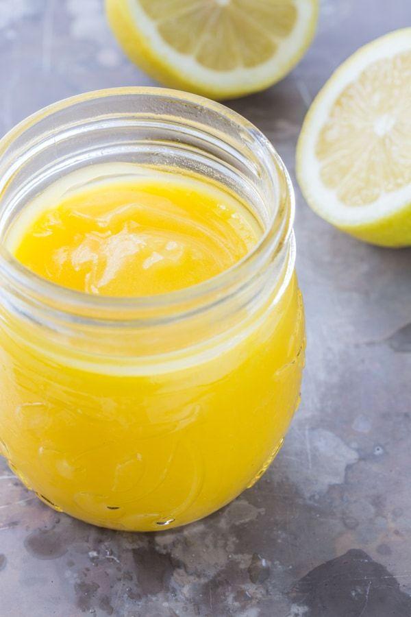 Simple Microwave Lemon Curd