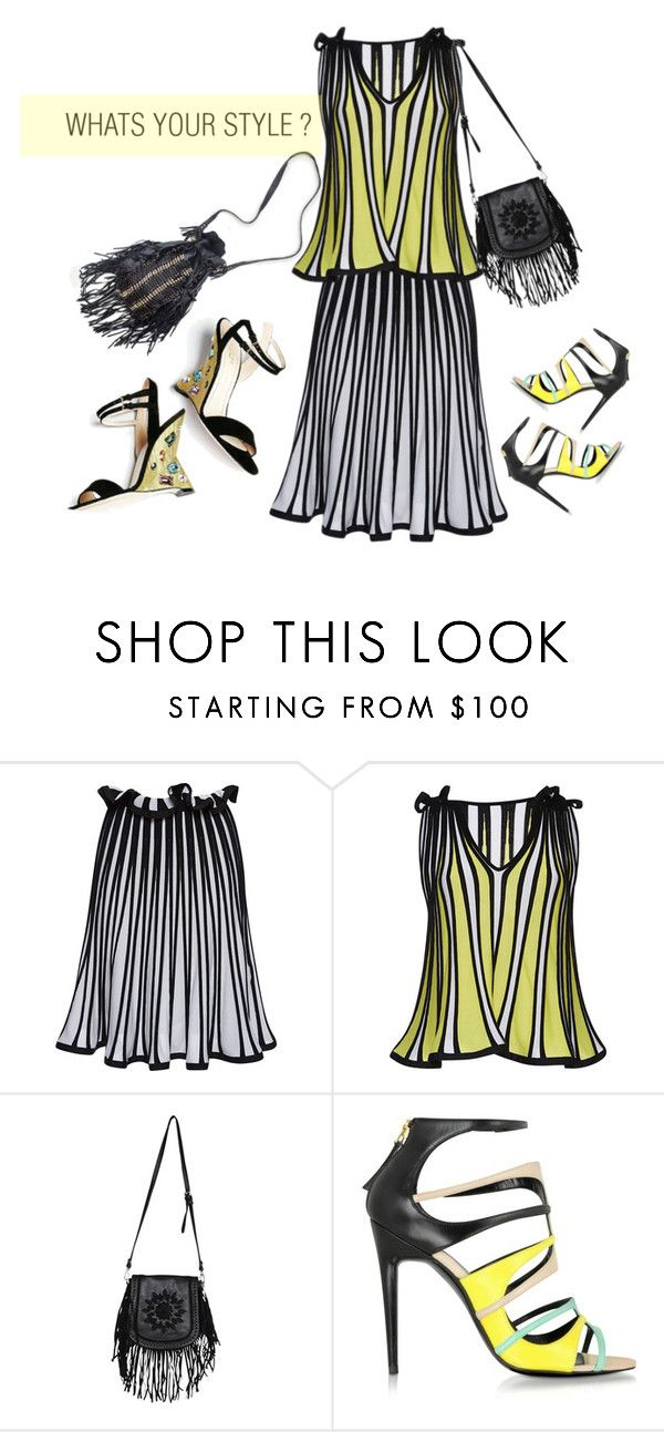 """""""A DIFFERENT TURN"""" by glam4me ❤ liked on Polyvore featuring MSGM, Stone_Cold_Fox, Urban Originals and Pierre Hardy"""