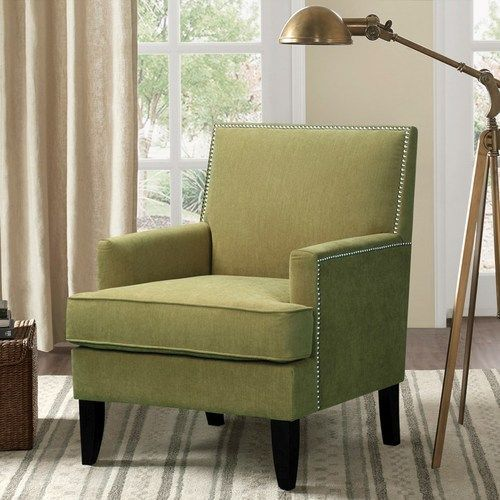 Company coming? Need a little accent chair to add some extra seating? This Colton Green Tropic Accent Chair might be just the right fit for your coastal room! With a modern club chair feel, this smal